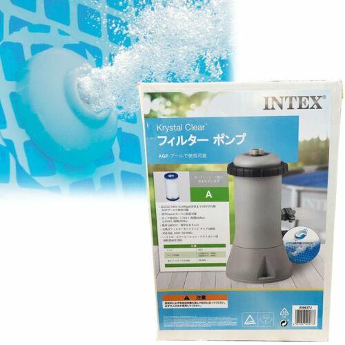 Intex Krystal Clear Above-Ground Filter Pump Swimming pool summer