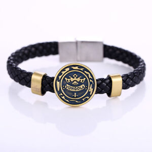 Katekyo Hitman Reborn Vongola Family Woven Bangle Bracelet Cosplay