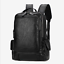 Men-039-s-14-15-6-IN-Backpack-Backpack-Genuine-Leather-Casual-Travel-Laptop-Bag thumbnail 1
