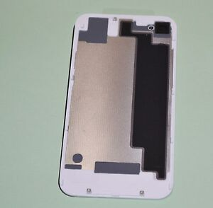 WHITE-Battery-Cover-Back-Door-Glass-Rear-Cover-for-iPhone-4S-GSM-T-Mobile-ATT