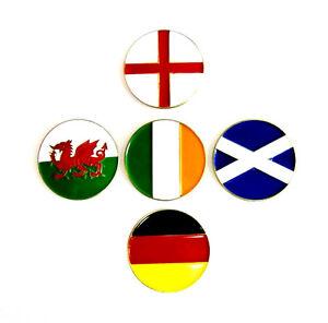 Bandera-Nacional-Marcador-de-Pelotas-de-Golf-Diferentes-Paises-por-favor-Elegir