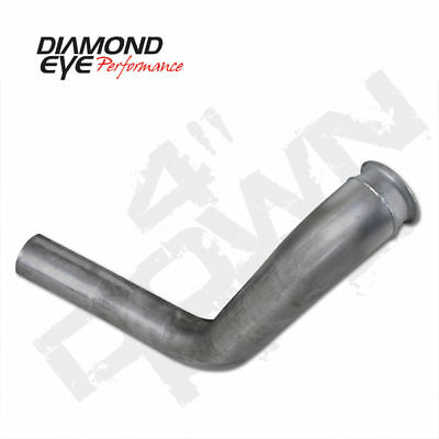 """MBRP 4/"""" Stainless Turbo Down Pipe 1999-2003 Ford 7.3L Powerstroke Diesel FS9401"""
