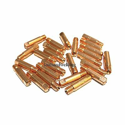 CONICAL NOZZLE 6PC SET MIG WELDING TIPS 0.8MM x 6MM FOR MB15 EURO TORCH