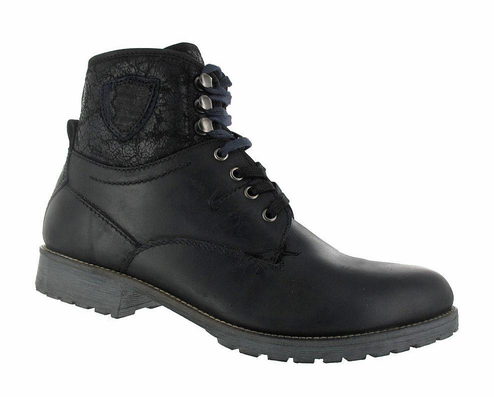 BUGATTI Herren-Stiefelette - Negro Negro Negro F1351-86 ada14f