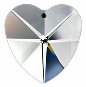 Clear-Lead-Crystal-Heart-Chandelier-Crystals-40mm-Prism-Suncatcher