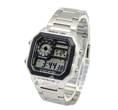 1 of 1 - -Casio AE1200WHD-1A Digital Watch Brand New & 100% Authentic