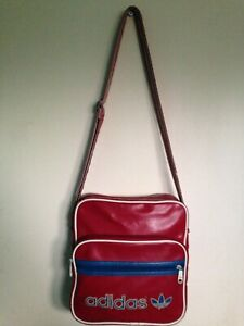 Red Adidas bandolera Messenger Vintage retro UTExKqH