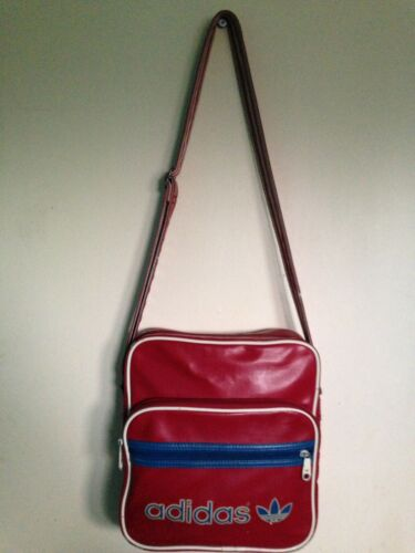 tracolla Red vintage retrò Messenger Adidas 7EOwvv