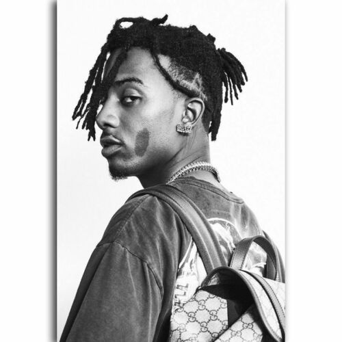 30 24x36 Poster Playboi Carti Rap Hip Hop Music Star Singer Fashion T-1401