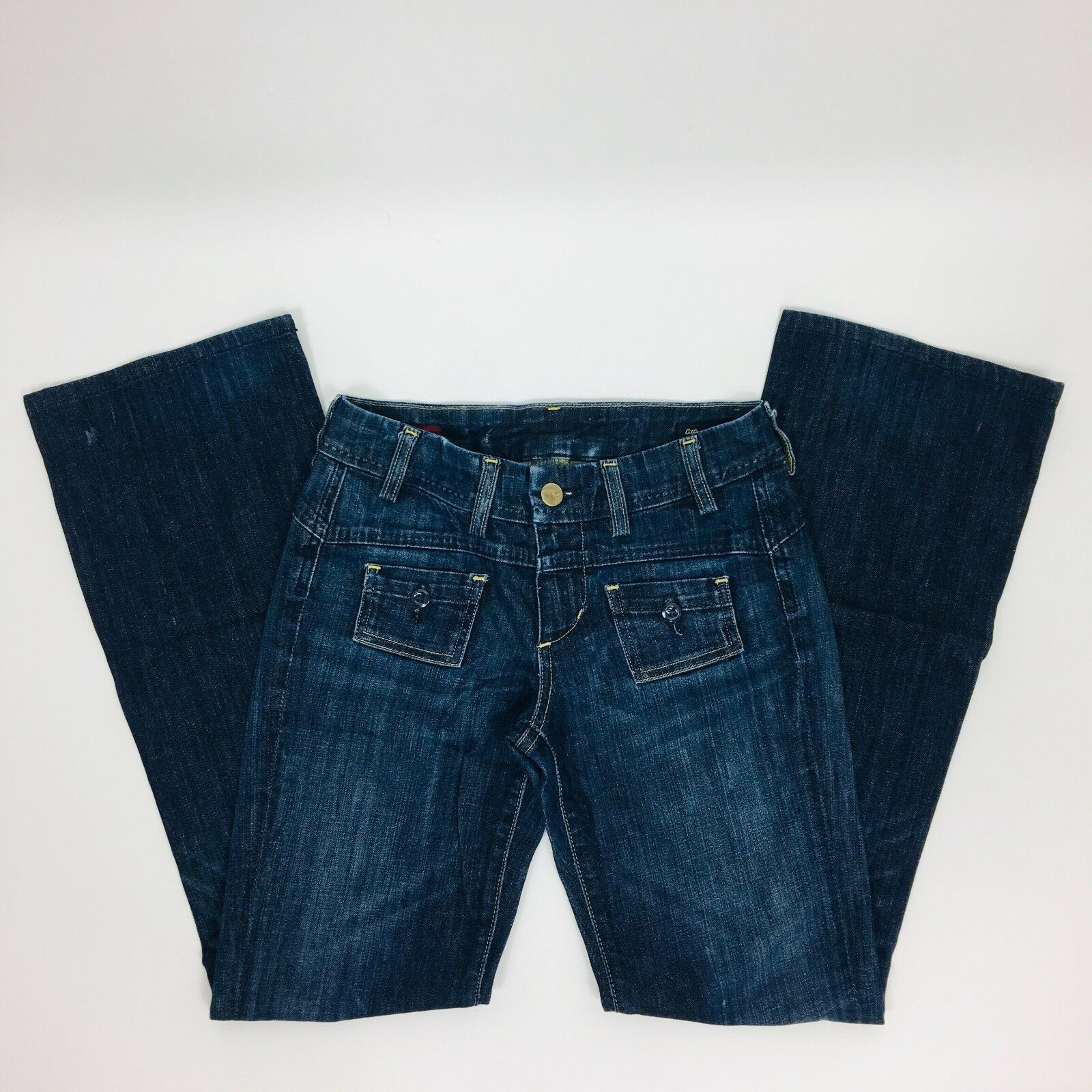 Citizens of Humanity by Jerome Dahan Kelly Stretch Low Rise Bootcut Size 24