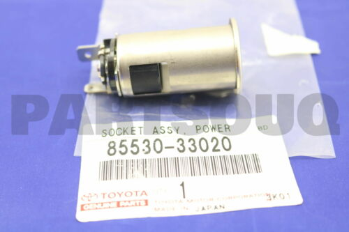 8553033020 Genuine Toyota SOCKET ASSY POWER OUTLET CENTER 85530-33020