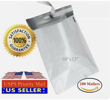 30 X 10x13 Light Poly Mailer 2 Mil Shipping Mailing Packaging Envelope Bags Us