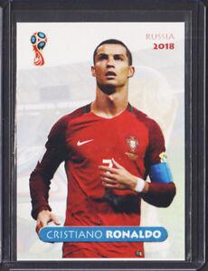 CRISTIANO RONALDO 2018 WORLD CUP Russia 1 100 card CR7 PORTUGAL Real ... 32a042e6d