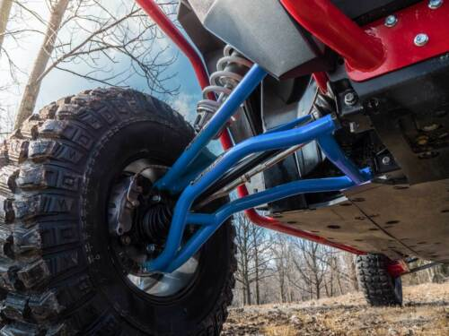 VOODOO BLUE SuperATV High Clearance LOWER A Arms for Polaris RZR 1000 2014+