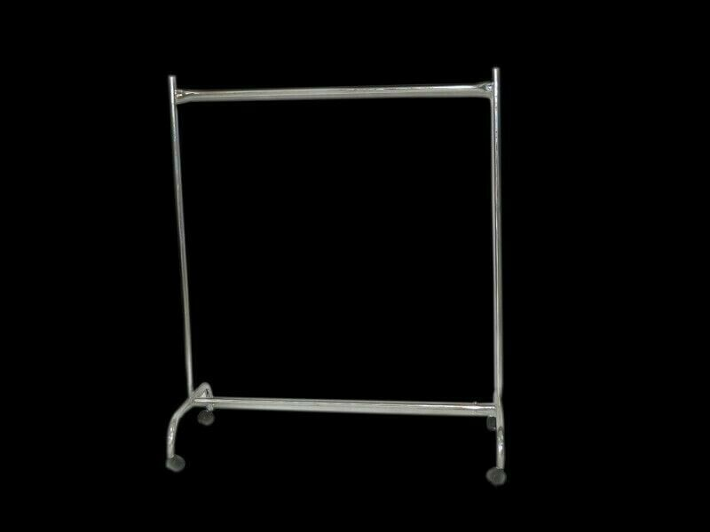 Galvanized Freestanding Clothing Rails For Sale