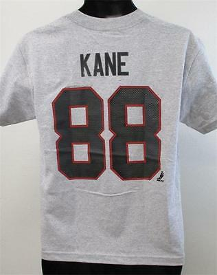 Aspiring New-minor-flaw Patrick Kane Chicago Blackhawks Youth Sizes L-xl Shirt 14/16-18