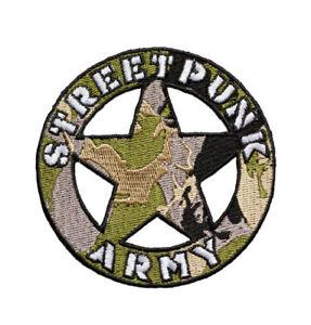 Streetpunk-Army-patch-gestickter-Aufnaeher