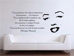 Wall stickers designs design adesivi murali marilyn monroe for Stickers murali cucina