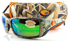 3f1428aabb Costa BL69OGMP Blackfin Sunglasses 580P Green Mirror Lens Realtree Xtra Camo