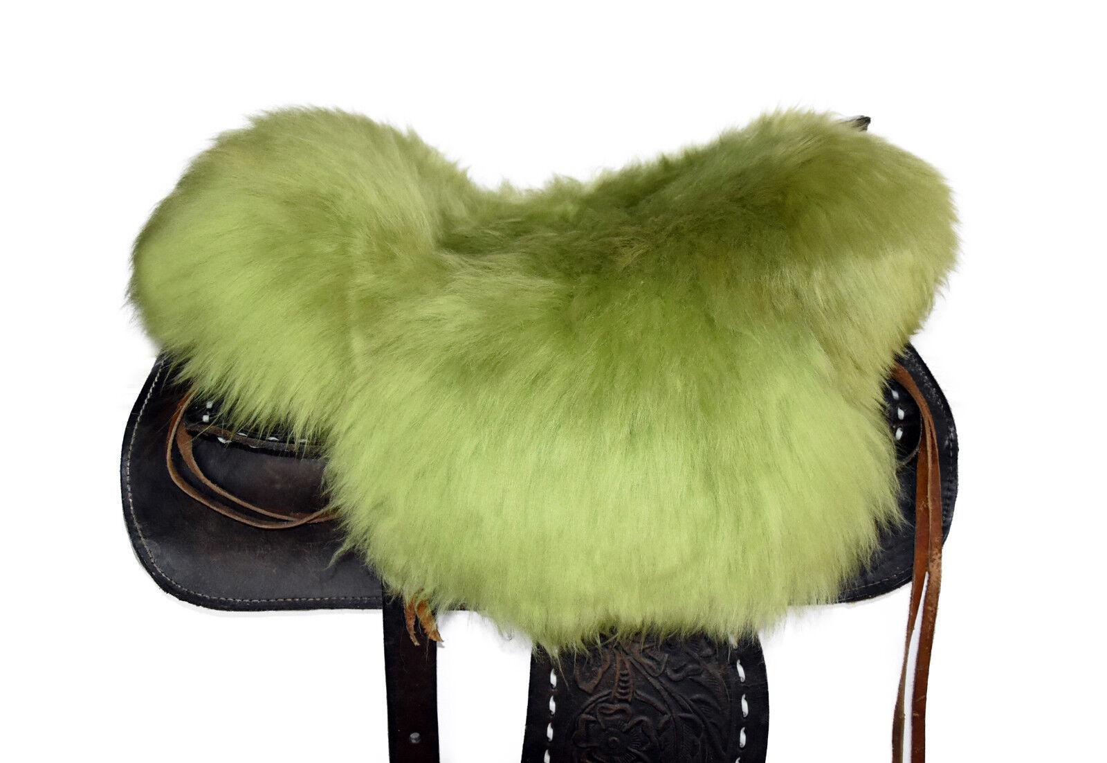 Agnello SELLA EDIZIONE Western Sella Lammfell riferimento saddle pad SEAT saver s345