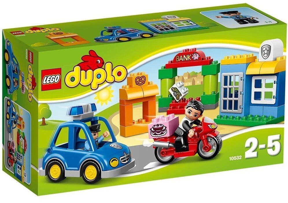 La Policía - LEGO DUPLO 10532 - NUEVO
