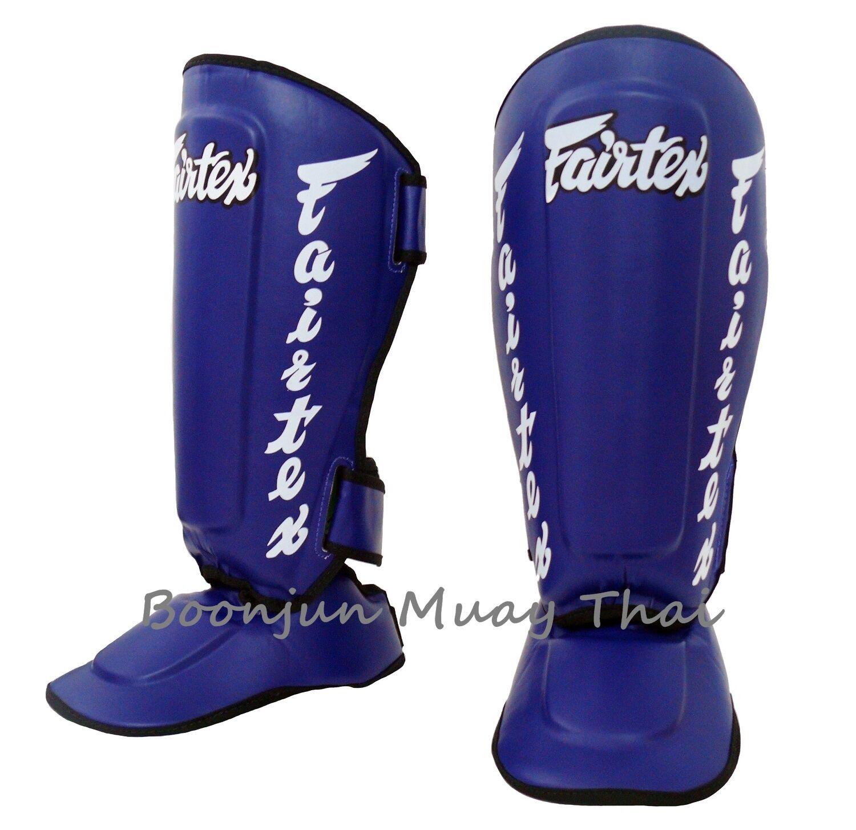 New  Fairtex Muay Thai Twister Shin Guards SP7 Detachable In Step Shin Pads bluee  cheap sale outlet online