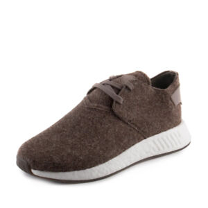 5fd476e5948526 Details about Adidas Mens Wings + Horns NMD C2 Chukka WH Brown CG3781 Wool