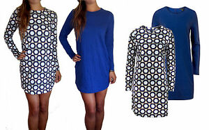 Ladies-Knitted-Knit-Stretch-Jumper-Dress-Long-Casual-Day-Plus-Size-XS-S-M-L-XL