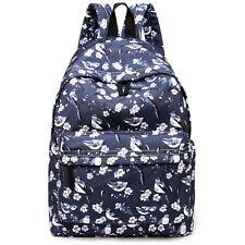 73d3cf244e Boys Girls Retro Backpack Rucksack School College Travel Laptop Work Bag
