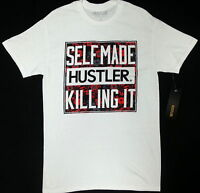 Hustler Self Made Hustler Killing It T-shirt 100% Authentic