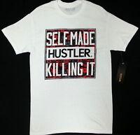 Hustler Self Made Hustler Killing It T-shirt 100% Authentic