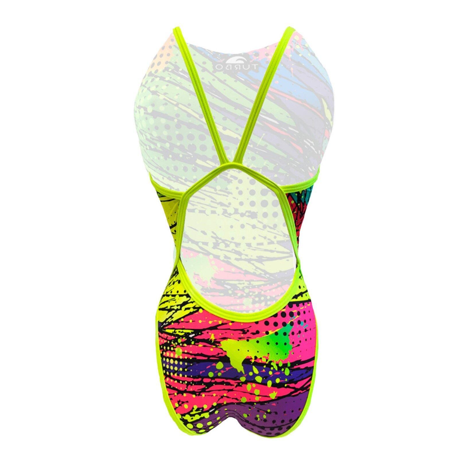 Turbo Damen Badeanzug Kriptonie Schwimmanzug Schwimmanzug Schwimmanzug Frauen Bunt  34-44 Urlaub Meer | Optimaler Preis  | Mangelware  | Moderne Muster  de72d0