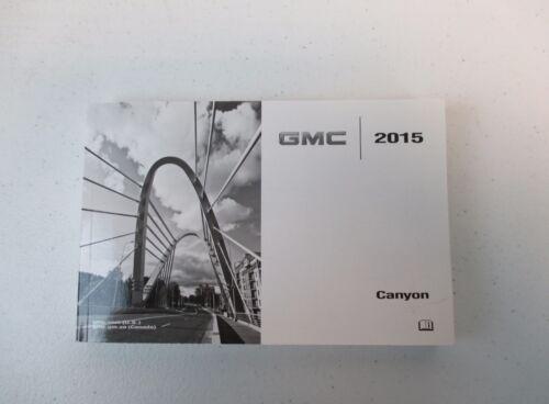 NEW 2015 15 GMC Canyon U.S Owners Manual Portfolio Book 23356086