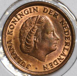 Netherlands 1966 Cent 152473 combine