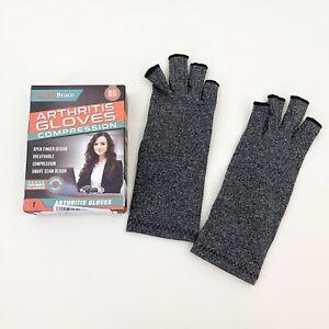 ComfyBrace Arthritis Hand Compression Gloves Comfy Fit Fingerless Design S Small