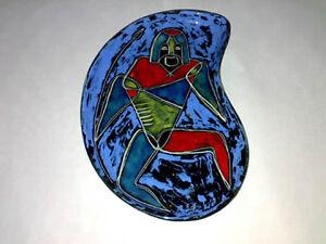 Schale-Plate-GLI-ETRUSCHI-Krieger-Warrior-ITALY