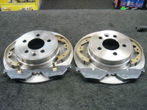 Rover 75 MG ZT Disques de freins plaquettes de frein arrière Chaussures HB