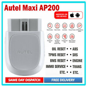 Details about Autel Maxi AP200 Bluetooth OBD2 Scanner Code Reader Full  Systems Car diagnostic