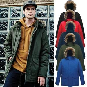 Regatta-Mens-Ice-Storm-Waterproof-Parka-Jacket-Coat-with-Detachable-Trim