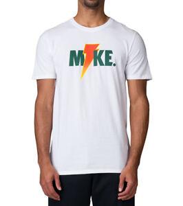 35562e69ea5 JORDAN Like Mike Gatorade Lightning T-Shirt sz 3XL XXX-Large White ...