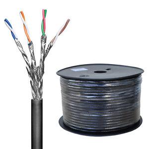 100-Meter-CAT-6-Netzwerk-Verlegekabel-Outdoor-LAN-Gigabit-4x2xAWG23-1-S-FTP-PiMF