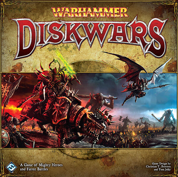 Warhammer Diskwars Out of Production Complete Set