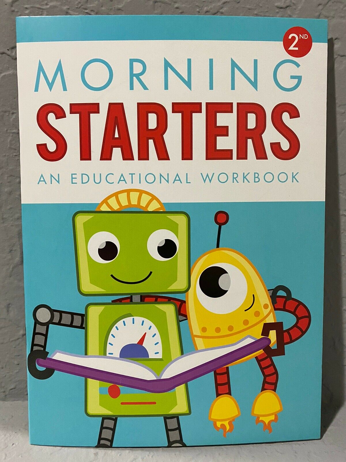NEW Second Grade (2nd) Morning Starters Educational/Learning Workbook 3