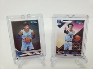 2019-20-Lot-Of-2-Donruss-Ja-Morant-Cards-Rated-Rookie-and-The-Rookies