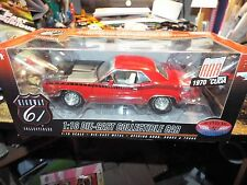 1:18 Highway 61 SUPERCAR 1970 '70 Plymouth Cuda AAR # 50468SC RED DCP