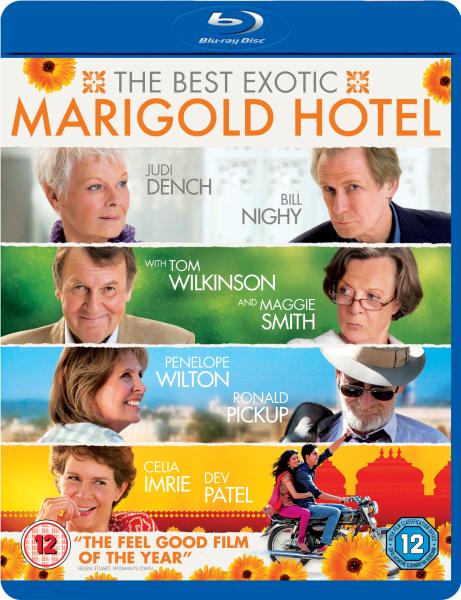 The Best Exotic Marigold Hotel (Blu-ray, 2012) SALE Judi Dench Bill Nighy VGC