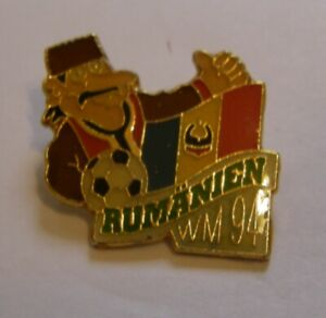 WORLD-CUP-94-USA-SOCCER-ROMANIA-Limited-Edition-500-vintage-pin-badge-Z8J