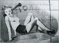 Photo: Nose Art: Idaliza, B-17 Flying Fortress, 303rd Bomb Group, WWII