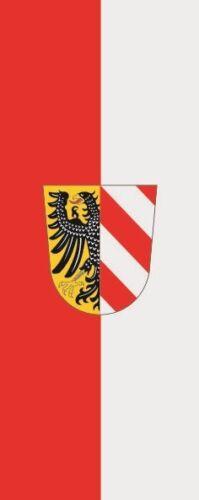 Fahne Flagge Nürnberg im Hochformat verschiedene Größen