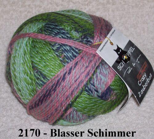 100 gr ZAUBERBALL CRAZY Sockenwolle von Schoppel Farbwahl